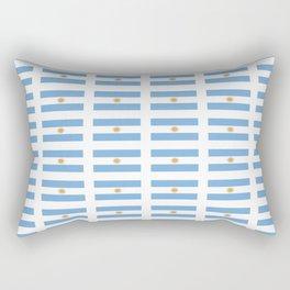 Flag of argentina 2 -Argentine,Argentinian,Argentino,Buenos Aires,cordoba,Tago, Borges. Rectangular Pillow