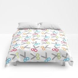 Bright Scissors Comforters