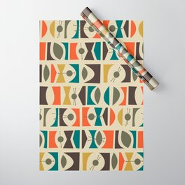 Tromen - Orange Wrapping Paper