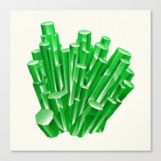 Green Formation Canvas Print