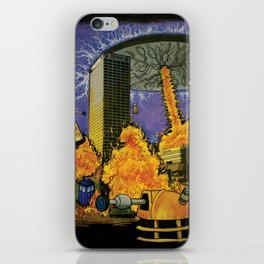 Dr. Who Dat Be? iPhone Skin