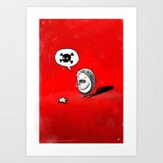 Oh! Art Print