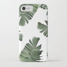 Banana Leaf Frenzy #society6 Slim Case iPhone 7
