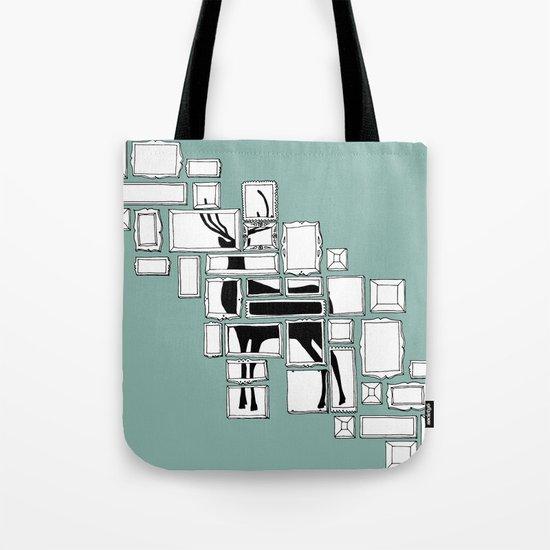 Hidden Deer Tote Bag