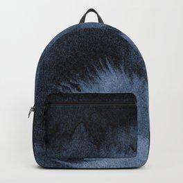 Watercolor Splash in Blue Backpack