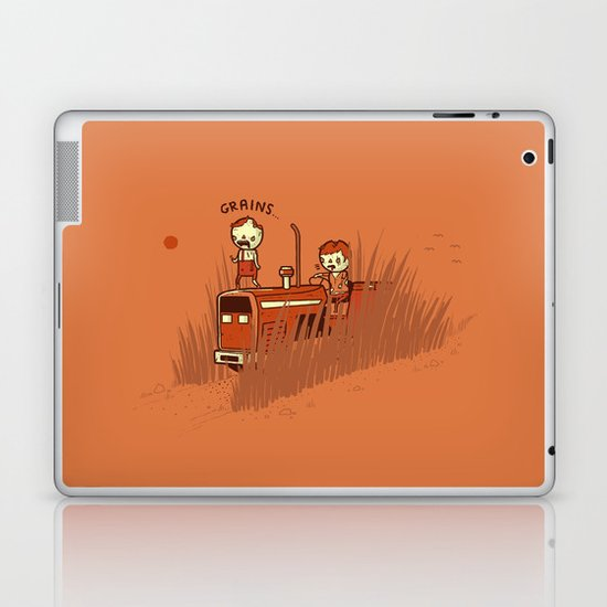Grains Laptop & iPad Skin