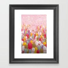 Society of Pills Framed Art Print