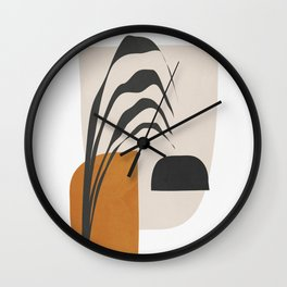 Abstract Shapes 3 Wall Clock