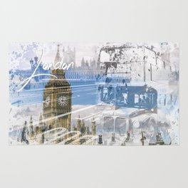 City Art WESTMINSTER Collage Rug