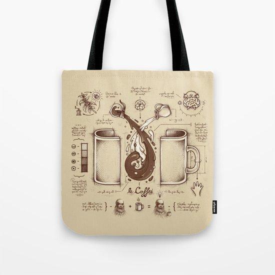 Le Coffee (Fluid of Creativity) Tote Bag