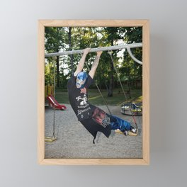 Playground Love Framed Mini Art Print