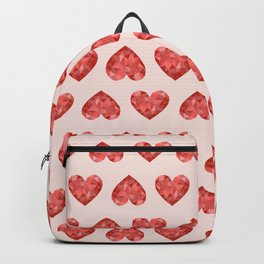 Gem hearts (PANTONE OF THE YEAR 2019) Backpack