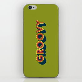 Groovy iPhone Skin