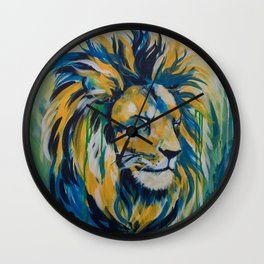 Majestic Lion Wall Clock