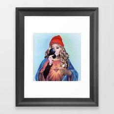 Amanda. Framed Art Print