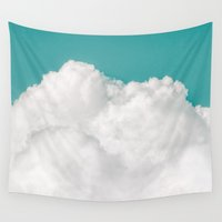 history Wall Tapestries featuring Dreaming Of Mountains by Tordis Kayma