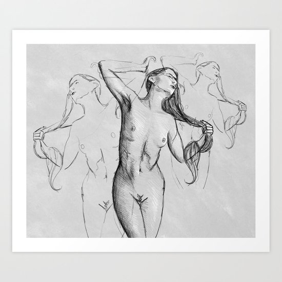 Body and soul Art Print