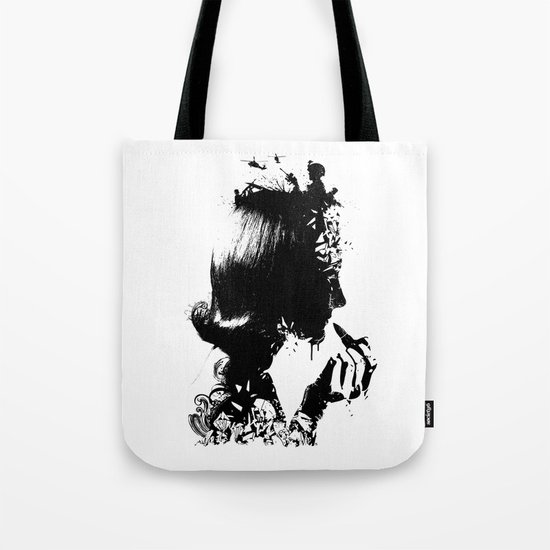 WOMAN SOLDIER Tote Bag