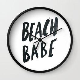 Beach Babe Wall Clock