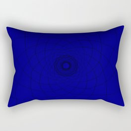 vortex of a trouble mind Rectangular Pillow