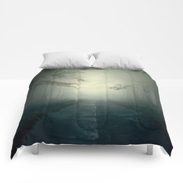 Foggy Stories Comforters