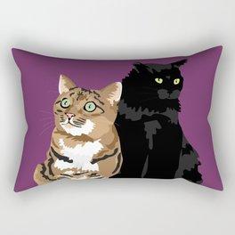 Niles and Gingerbread Rectangular Pillow