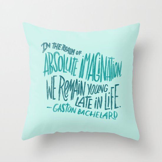 Absolute Imagination Throw Pillow