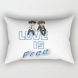 Love is Free Rectangular Pillow