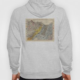 Vintage Geological Map of Edinburgh Scotland (1883) Hoody