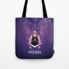 Pitch Black - Badass Riddick Tote Bag