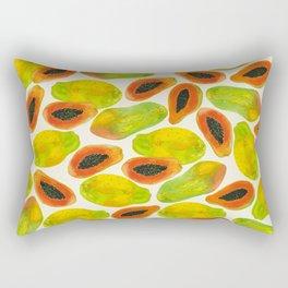 Plentiful Papaya Rectangular Pillow