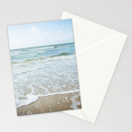 Peaceful Pastel Colored Beach | Dutch Coast | Pastel Colors | Travel Photography | Photo Print  Stationery Cards