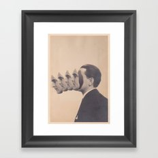 Politics (2013) Framed Art Print
