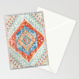 Heritage Multicolore Rug  Stationery Cards