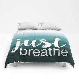 Just Breathe Comforters