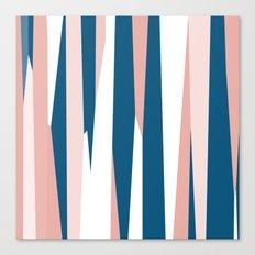 Peachy blue Canvas Print