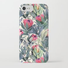 Painted Protea Pattern iPhone 7 Slim Case