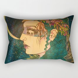 Morrigan: The Phantom Queen Rectangular Pillow