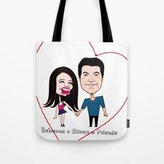 Rebecca Black and Simon Cowell are Friends Tote Bag