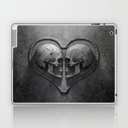 Gothic Skull Heart Laptop & iPad Skin