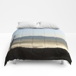 Mist on the Marsh 01 Comforters