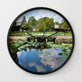 Mirror World Wall Clock
