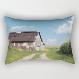 Tobacco barn  Rectangular Pillow