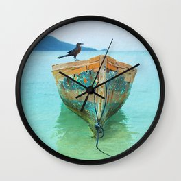 BOATI-FUL Wall Clock