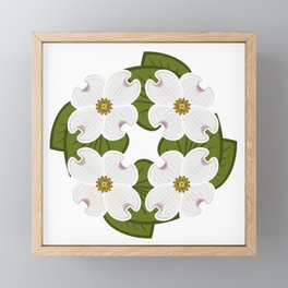 Flowering Dogwood Framed Mini Art Print