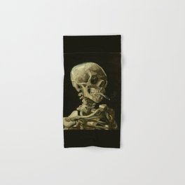 Vincent van Gogh - Skull of a Skeleton with Burning Cigarette Hand & Bath Towel