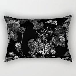 DARK FLOWER Rectangular Pillow