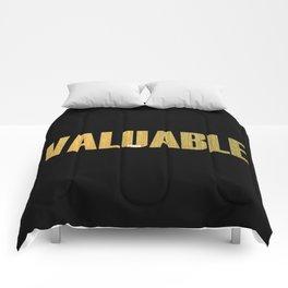 Valuable Comforters