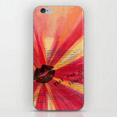 Valentine Thimble iPhone & iPod Skin