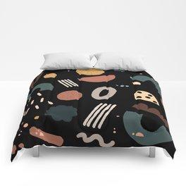 Geo Shapes Luxe Comforters
